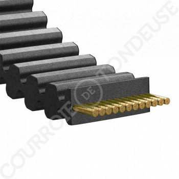 Courroie tondeuse double dentée 1600-S8M20DD