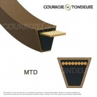 Couroie MTD spécifique MTD7540241A